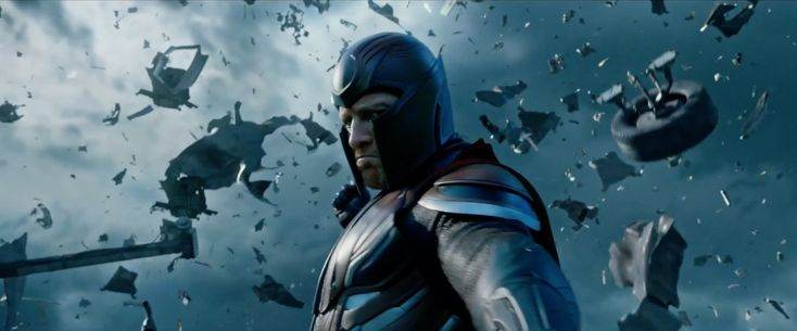 New X-Men: Dark Phoenix image shows off Magneto in serious trouble
