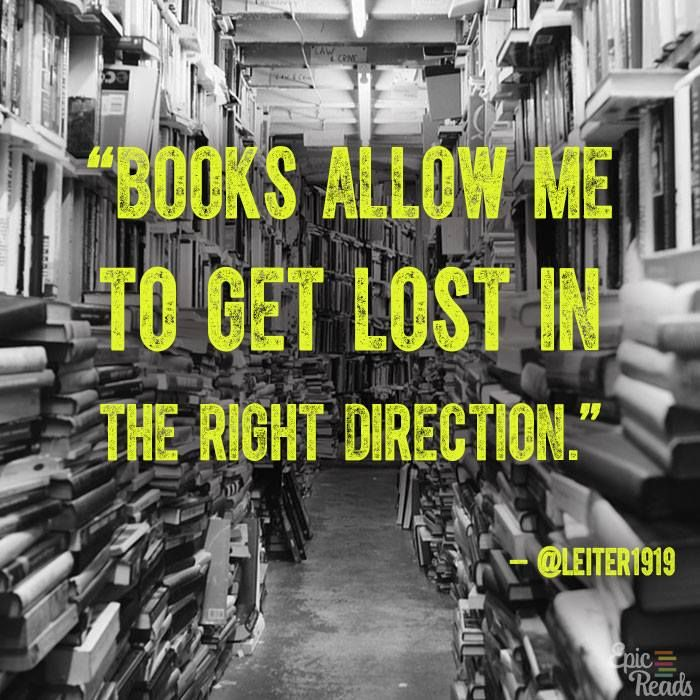 Get lost in a book today.