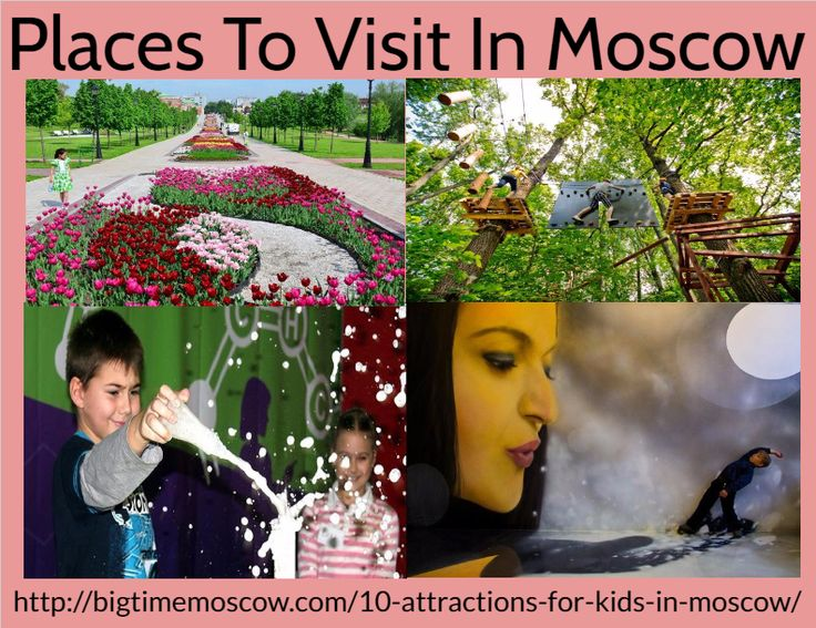 If you are searching amazing places to visit in this vacation with family and kids then go Moscow and create memories for a lifetime. Here many places to visit in Moscow like a planetarium, the Mosquarium Oceanarium, Moscow zoo, cat theatre of kuklachew, crocus aquarium, Tsaritsyno Park, experimentarium museum, Panda Park, museum of illusions which is the most attraction for the kids. The garden has lindens, oaks, maples, poplars, a lot of lilac, honey suckle, hawthorn shrubberies, roses. So…