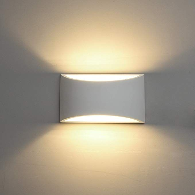 Deckey Wall Light Led Up And Down Indoor Lamp Uplighter Downlighter Warm White Amazon Co Uk Amazon Co Uk Led Wall Lights Wall Lights Wall Sconce Lighting