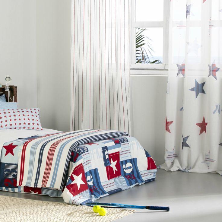 17 mejores ideas sobre cortinas juveniles en pinterest for Fundas nordicas juveniles chico