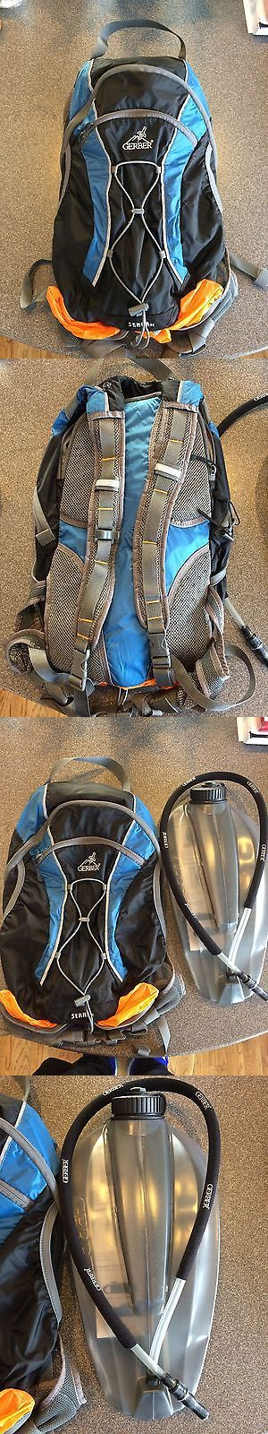 Hydration Packs 87125: New Gerber Serra Xc Hydration Hiking Pack 11055 Backpack W/ 100 Ounce Reservoir -> BUY IT NOW ONLY: $32.0 on eBay!