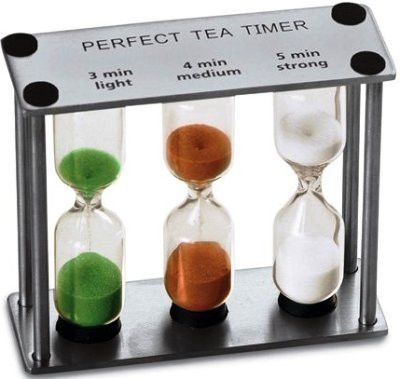 Stainless Steel Timers - 3-4-5 minute timer Tea timer for the perfect cup of tea – Olde Church Emporium