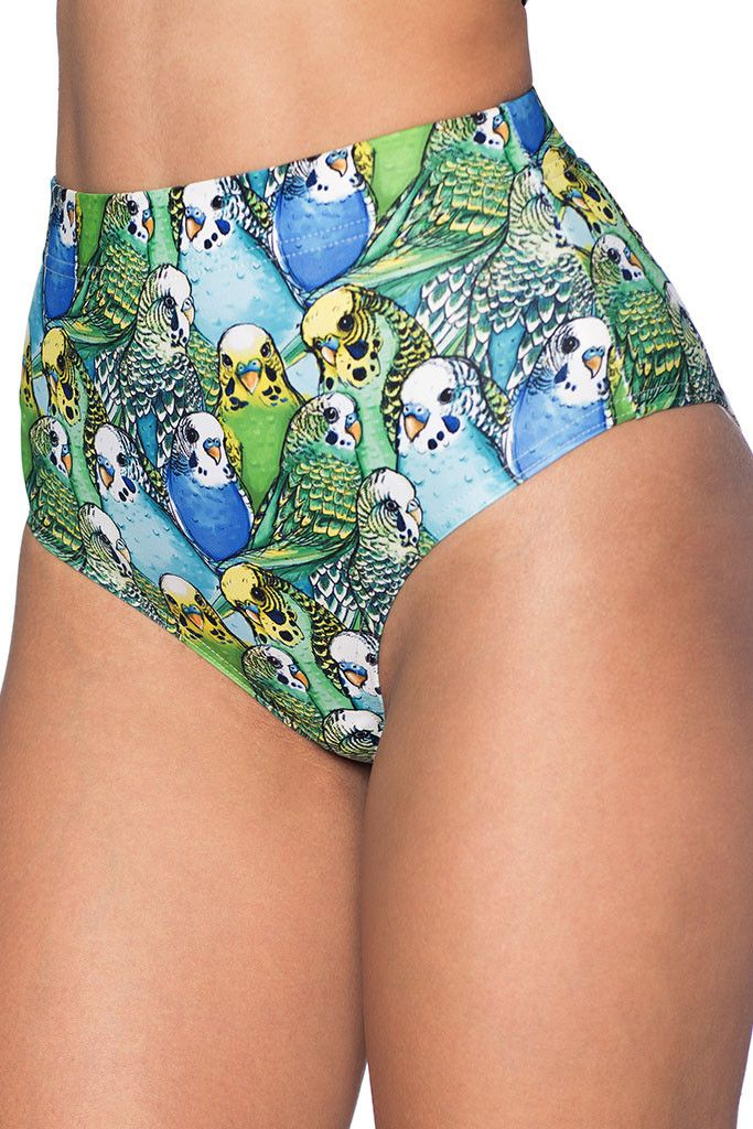 Parrot Cute Cheeky Nana Suit Bottoms - LIMITED