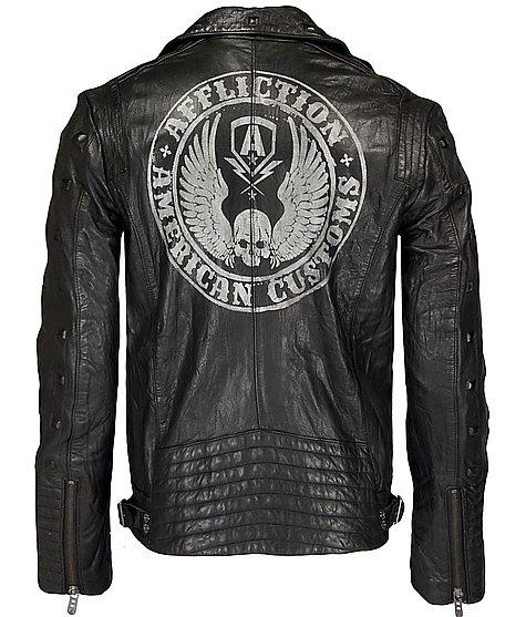 Affliction American Customs Reborn Jacket Leather jacket