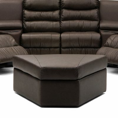 Durant Leather Ottoman Upholstery Material: Bonded Leather, Upholstery Color: Bonded Leather - Champion Granite - http://delanico.com/ottomans/durant-leather-ottoman-upholstery-material-bonded-leather-upholstery-color-bonded-leather-champion-granite-588959804/
