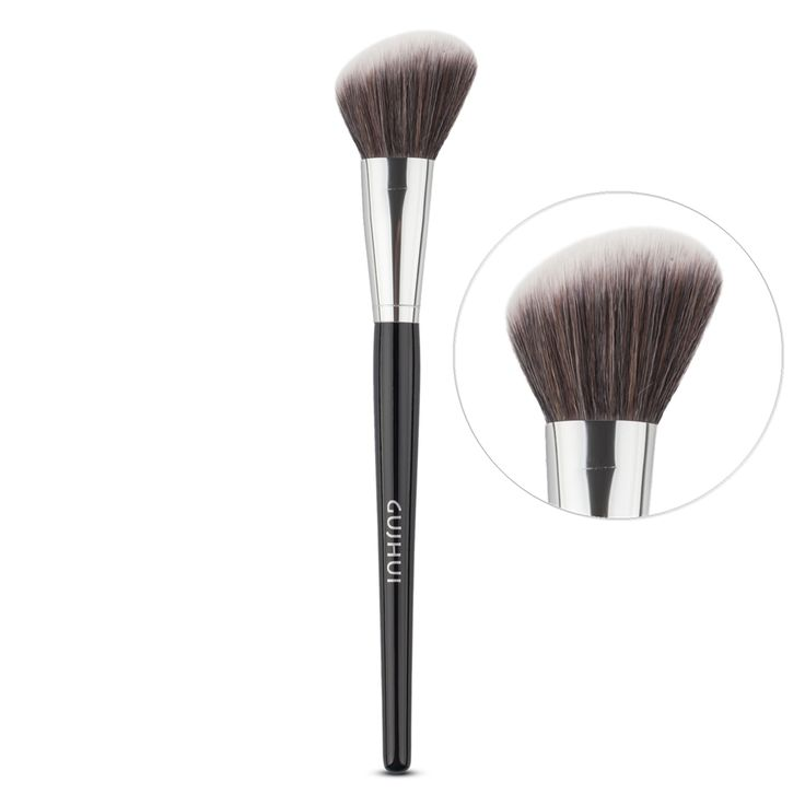 New Pro Makeup Round Angled Top Foundation Powder Contour Brush Blush Blusher Blending Brush Cosmetic Beauty tool ** Detailed information can be found by clicking on the image