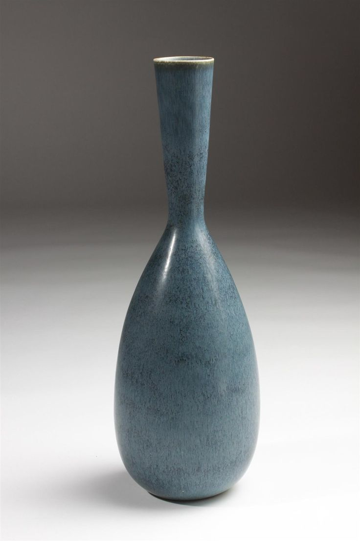 Floor vase, designed by Carl-Harry Stålhane for Rörstrand, Sweden. 1950's.