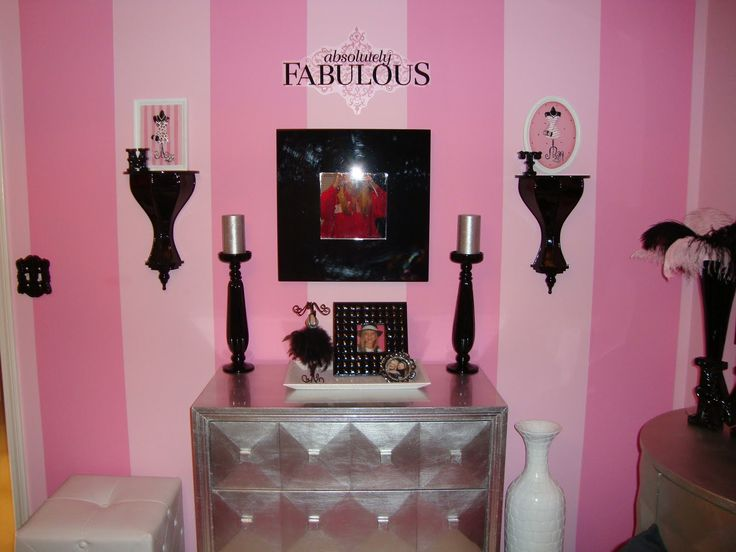Paris Themed Bedrooms For Teenagers | Theme For This Pink, Black, White, U0026