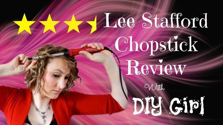 Lee Stafford | Chopstick styler | Review | Short Hair | DiyDawn