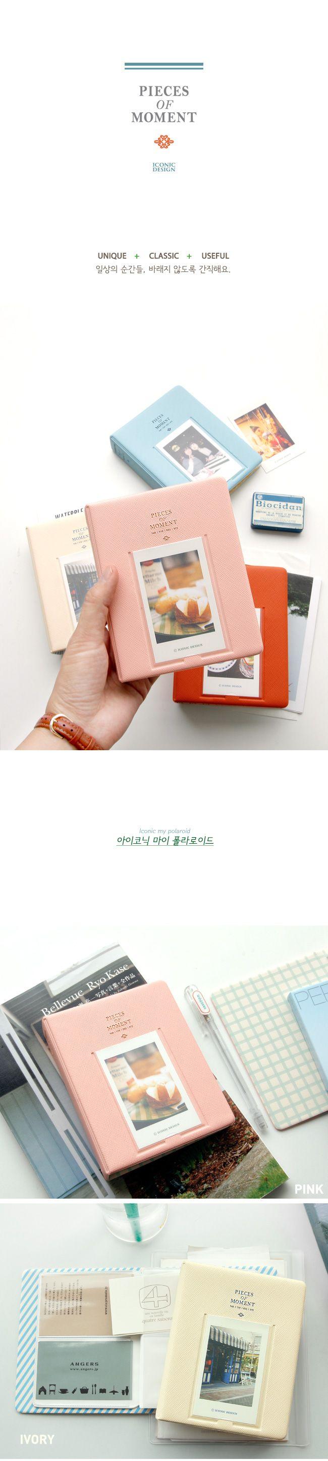 64 Карманы Мини Мгновенный Polaroid Фотоальбом Чемодан для Пленка Fujifilm Instax Mini 7 s 8 Корея instax мини альбом купить на AliExpress
