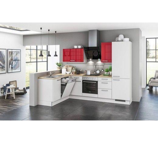 Bei dieser einbauküche finden sich gleich mehrere lösungen für platzsparendes kochvergnügen in l form passt sie ideal in die zimmerecke