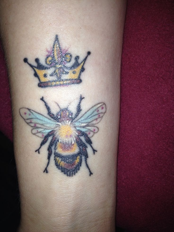 queen bee tattoo - photo #22