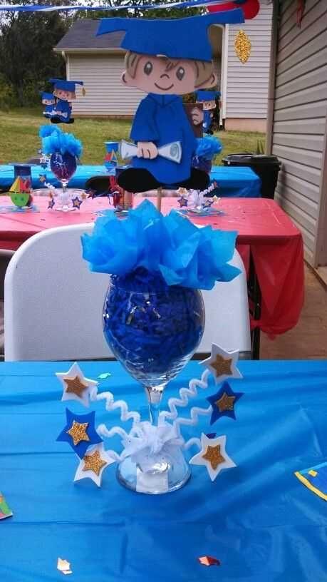 graduation table party decorations party helper pinterest