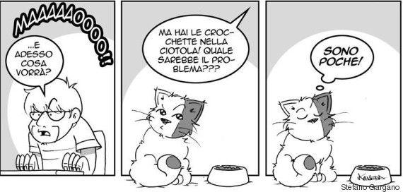 Queste 10 illustrazioni vi spiegano cosa significa vivere con un gatto