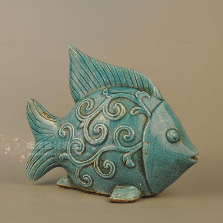 Resultado de imagen para peces en ceramica