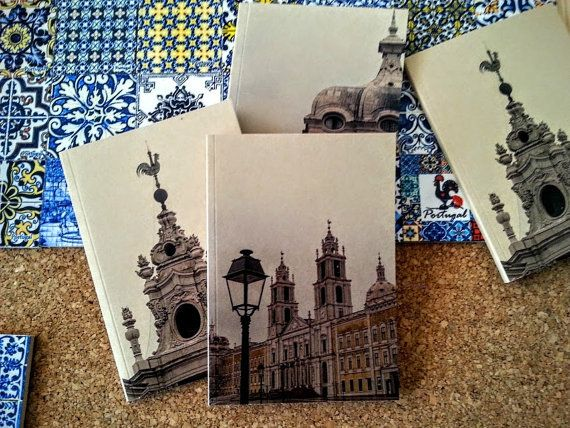Notebooks from Mafra  Portugal by PresentesdePortugal on Etsy