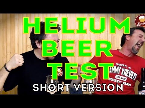 """German Guys Taste Test """"Helium-Infused"""" Beer, Hilarity Ensues - 9GAG.tv"""