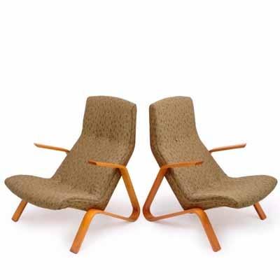 Eero Saarinen Grasshopper chairs