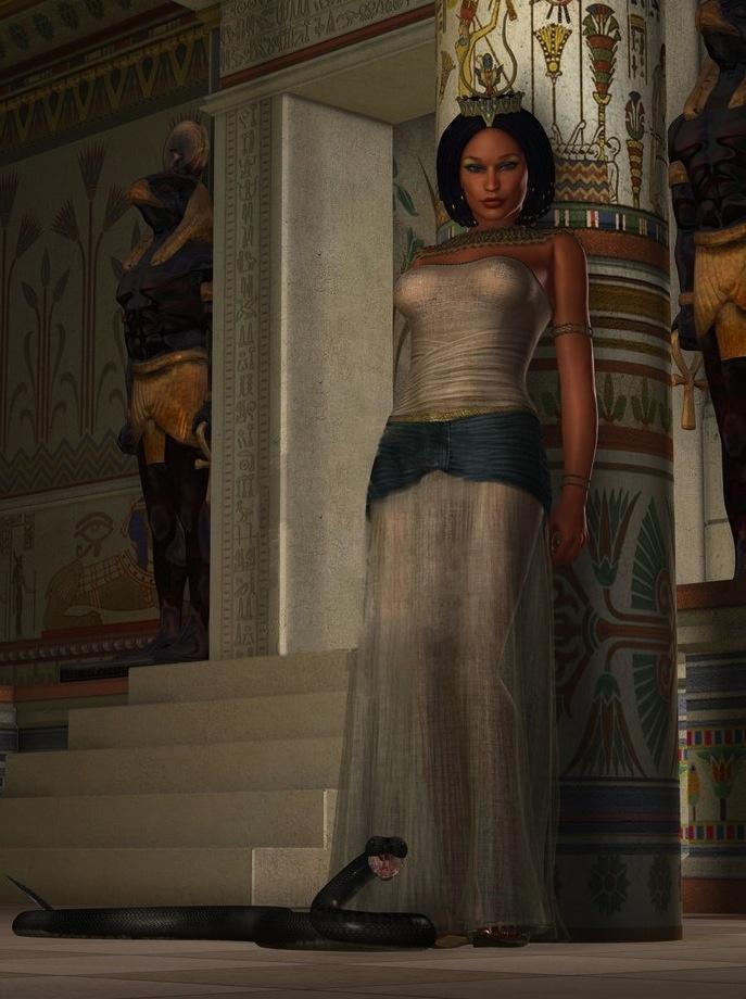 """Wadjet (Wadjyt, Wadjit, Uto, Uatchet, Edjo, Buto) was one of the oldest Egyptian Goddesses."