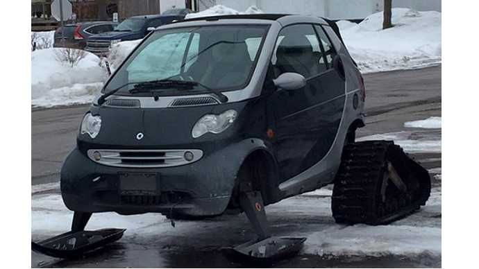 Canada's new car for snow.