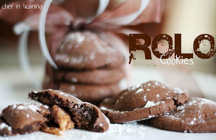 Rolo Cookies!  Only 4 ingredients neededCake Cookies, Recipe, Food Cake, Yummy Food, Cake Mixes, 4 Ingredients, Cake Mixed Cookies, Easy Rolo, Rolo Cookies