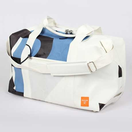 Upcycled Sail Cloth Bags with Maritime Flair by SavetheC | MONOQI