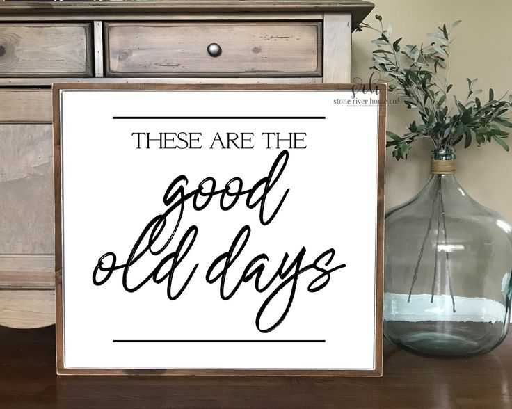 Home decor painted wood sign | These are the good …