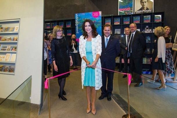 Crown Princess Mary attended preview of the French painter Monet exhibition at…