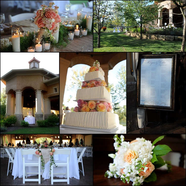 outdoor wedding ceremony sites in akron ohio%0A Reception details  gervasi wedding