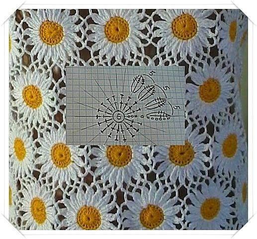 Tecendo Artes em Crochet: Colcha Maravilhosa e Motivo Margarida, Vem Espiar!