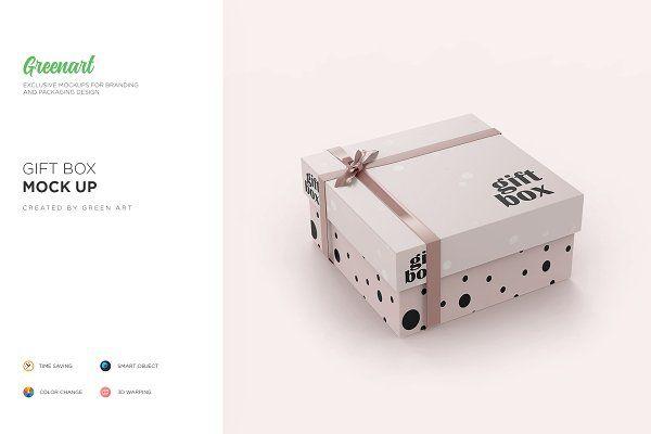 Download Free Psd Mockups Large Carton Gift Box Mockup Psd Mockup Box Mockup Mockup Gift Box