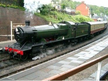 Llangollen Railway, Llangollen Denbighshire Wales