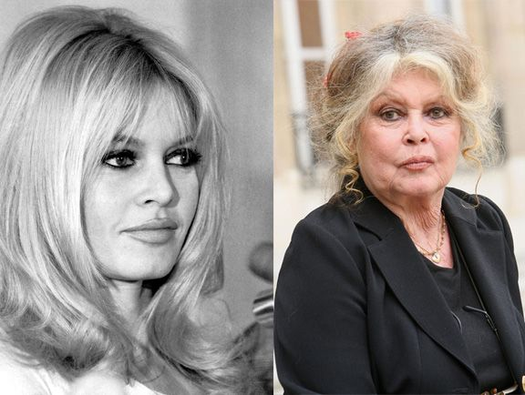 Image result for beauty before and after photos aging actresses bardot