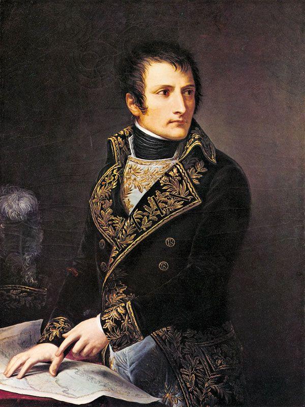 Andrea Appiani: Portrait of Napoleon Bonaparte as President of the Italian Republic. 1803.