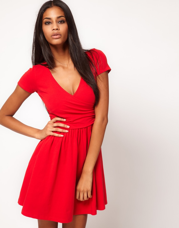 Asos red dress $30.42