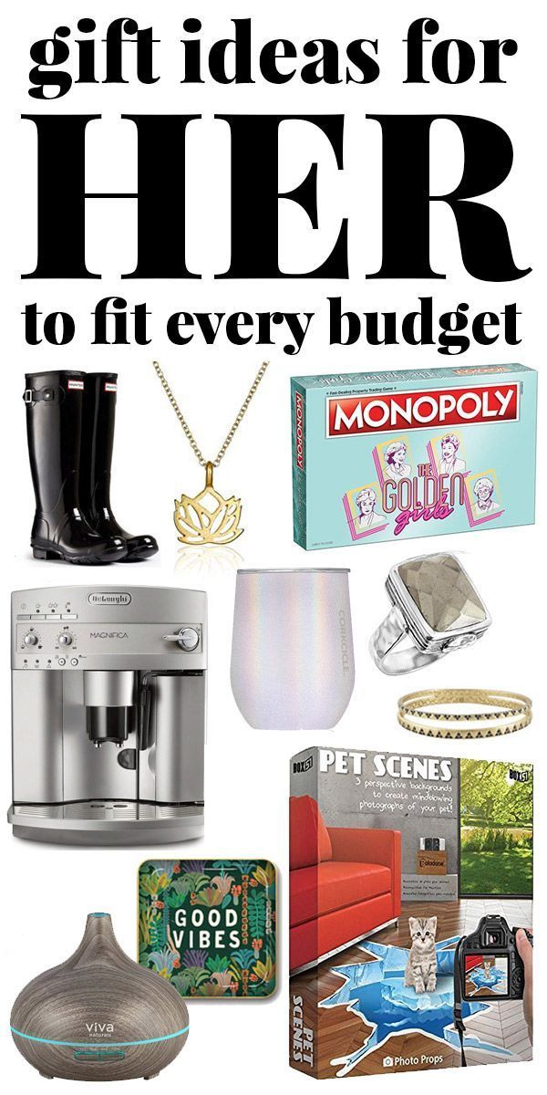 Christmas Gift Ideas for Her – For Any Budget!