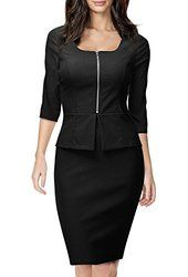 Le Suit Women's 3 Button Tweed Jacket and Skirt Suit Set with Belt from $35.99 by Amazon BESTSELLERS