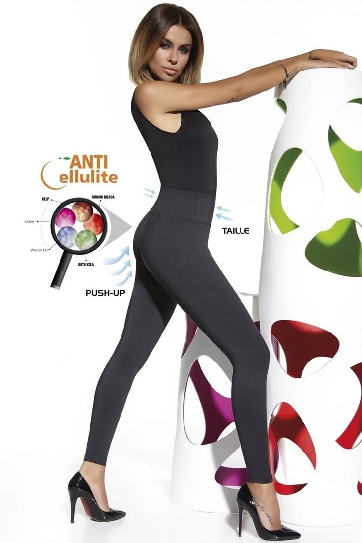 These classic cut, full lenght leggins might look unassuming, but in truth, they are unique in every inch! Crafted from 300 DEN opaque elastic fabric, this model features considerable toning effect, giving appearance of slimmer legs and more rounded, lifted buttocks while special ITOFINISH KELP microcapsules slowly release natural substances known to help fight cellulite […]