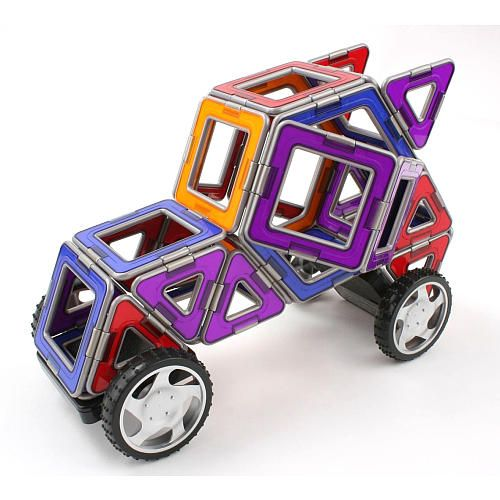 """MAGFORMERS XL Cruisers Car Set - Magformers - Toys """"R"""" Us"""