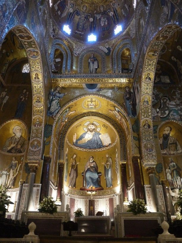 Norman Palace, Palermo, Italy — by Francez Curbelo. Located within the Palazzo dei Normanni , the Cappella Palatina is the finest example of Arab-Norman art in Palermo