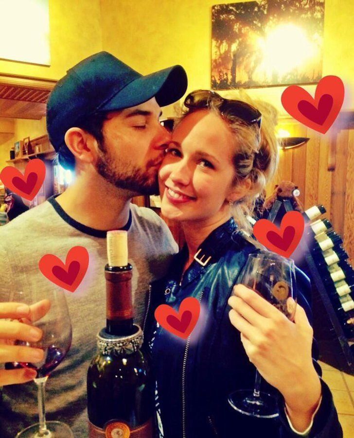 Pin for Later: Pitch Perfect's Anna Camp and Skylar Astin Are All About PDA