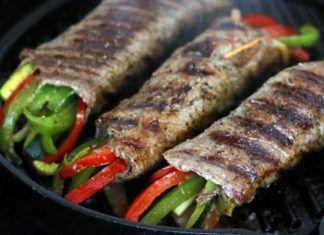 Bistec con vegetales y glaseado de romero balsámico