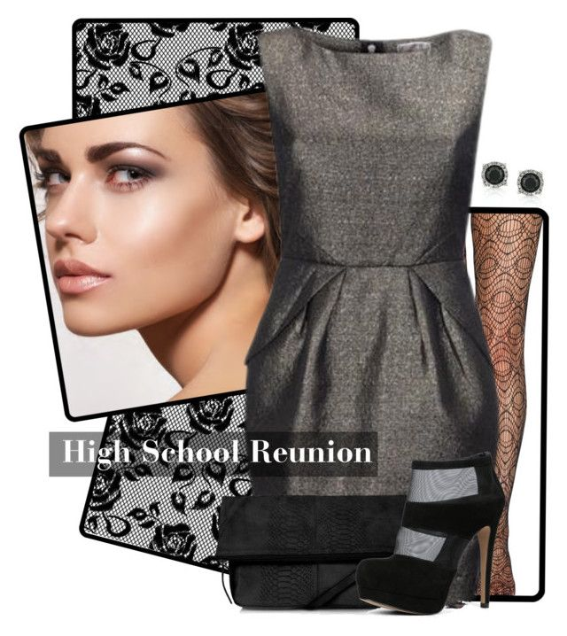 """Dress Me For My 10 Year High School Reunion"" by jenniferjenjen ❤ liked on Polyvore"