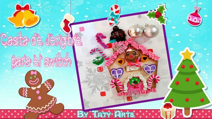 casita de jengibre  switchero en fomi /Taty Arts/ Ideas navideñas