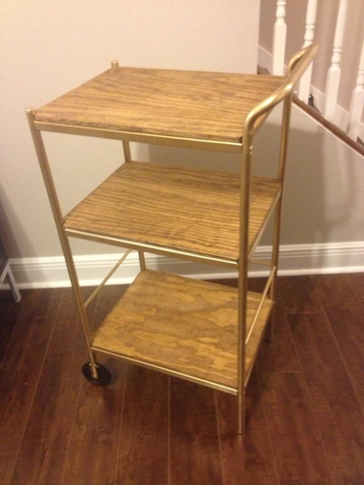 Bar Cart Ikea Bygel Utility Cart Hack Dining Room