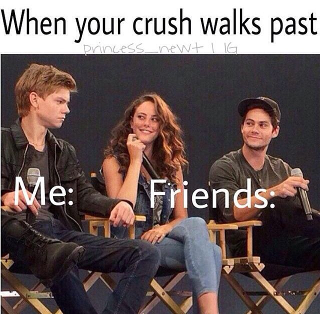 When My crush walks by (aka Thomas Brodie-Sangster)