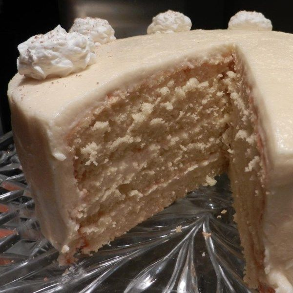 """Deep South Eggnog Cake 