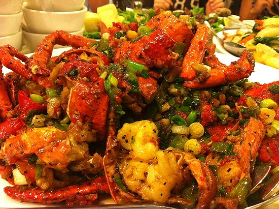Lobster asian style recipes pinterest for Andy s chinese cuisine san francisco