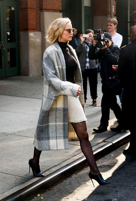 Jennifer Lawrence, Leaving the Greenwich Hotel in New York (December...